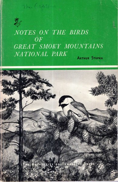 Image for Notes on the Birds of Great Smoky Mountains National park