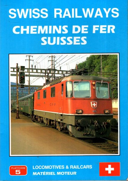 Image for Swiss Railways Locomotives and Railcars