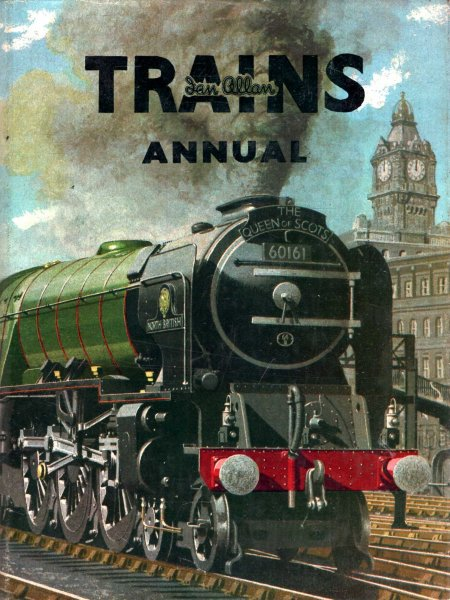 Image for Trains Annual 1956