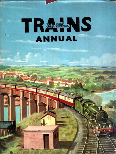 Image for Trains Annual 1955