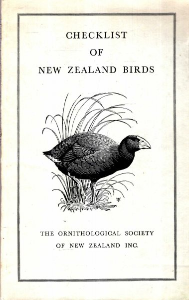 Image for Checklist of New Zealand Birds