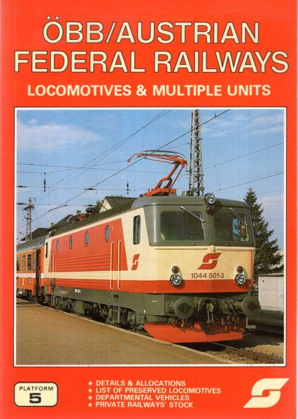 Image for OBB/Austrian Federal Railways - locomotives and multiple units