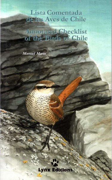 Image for Lista Comentada de las Aves de Chile/Annotated Checklist of the Birds of Chile (Checklists)