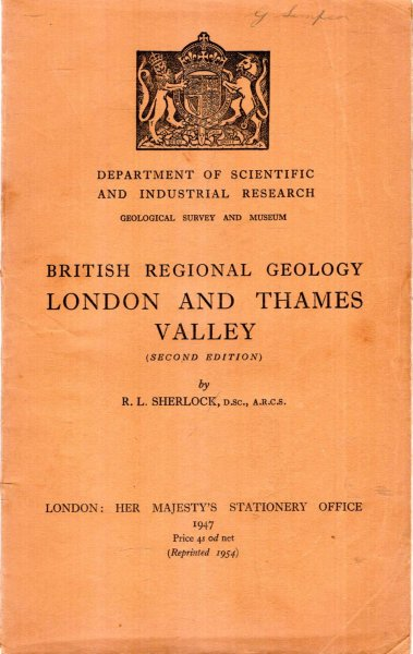 Image for British Regional Geology : London and Thames Valley