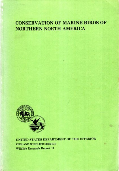 Image for Conservation of Marine Birds of Northern North America : papers from the International Symposium