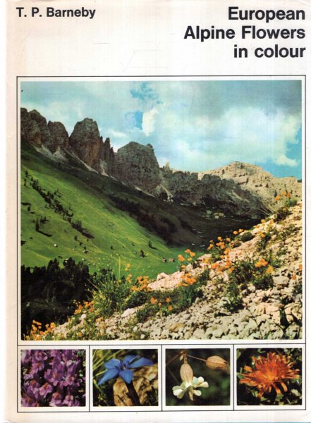 Image for European Alpine Flowers in Colour