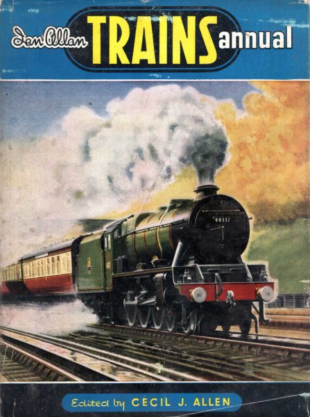 Image for Trains Annual 1951
