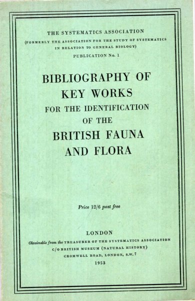 Image for Bibliography of Key Works for the Identification of the British Fauna and Flora