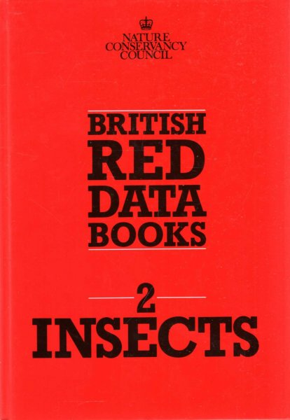 Image for British Red Data Books volume 2 : Insects