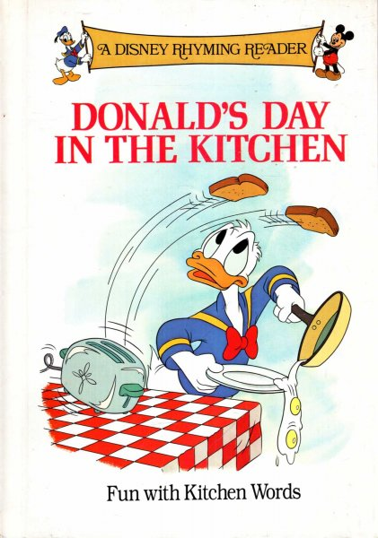 Image for Donald's Day in the Kitchen  (A Disney Rhyming Reader)