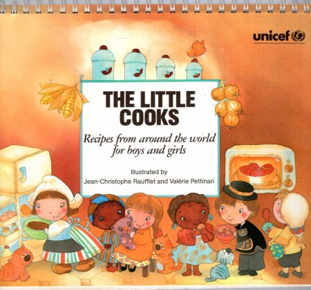 Image for The Little Cooks - recipes from around the world for boys and Girls