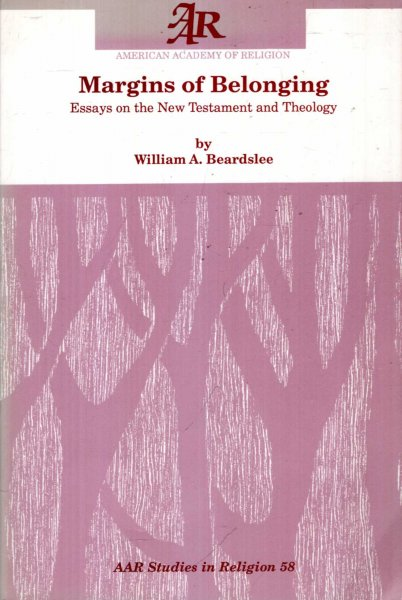 Image for Margins of Belonging : Essays on the New Testament and Theology