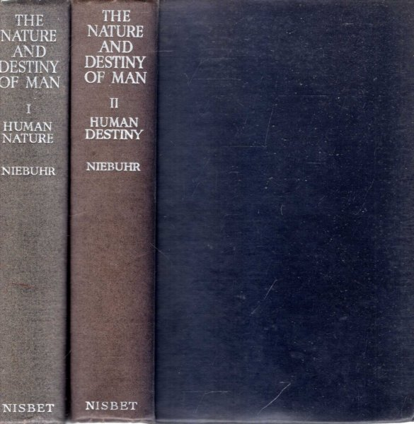 Image for The Nature and Destiny of Man : A Christian Interpretation (two volumes complete)