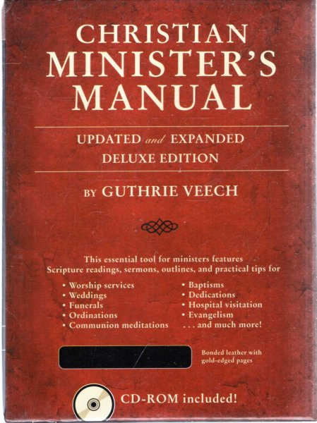 Image for Christian Minister's Manual - Updated and Expanded Deluxe Edition