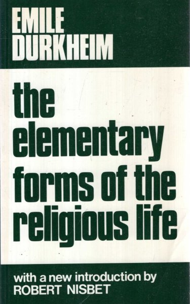 Image for The Elementary Forms of the Religious Life