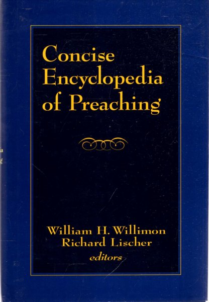 Image for Concise Encyclopedia of Preaching