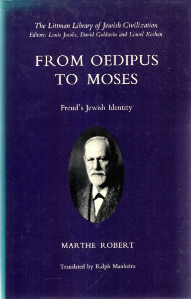 Image for From Oedipus to Moses: Freud's Jewish Identity