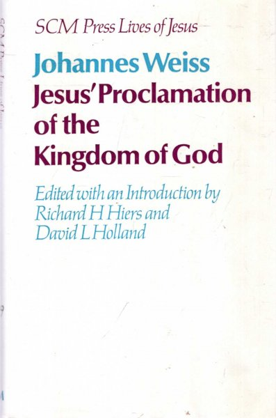 Image for Jesus' Proclamation of the Kingdom of God (Lives of Jesus)