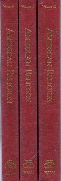Image for American Religion: Literary Sources and Documents (three volumes complete)