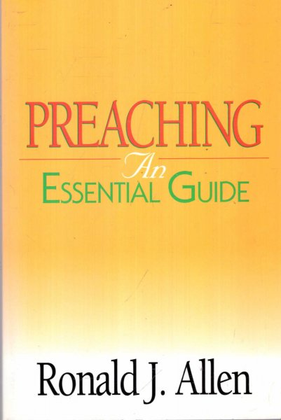 Image for Preaching: An Essential Guide