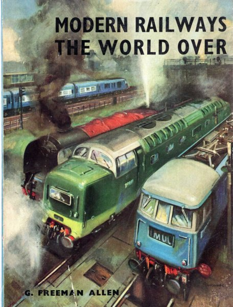 Image for Modern Trains the World Over