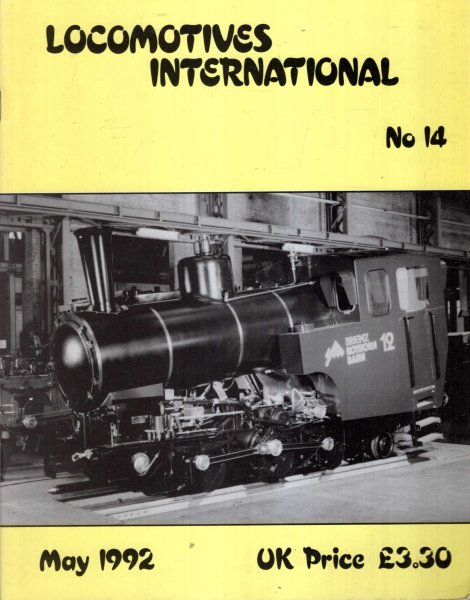 Image for Locomotives International No 14 : May 1992