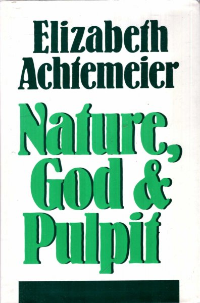 Image for Nature, God and Pulpit