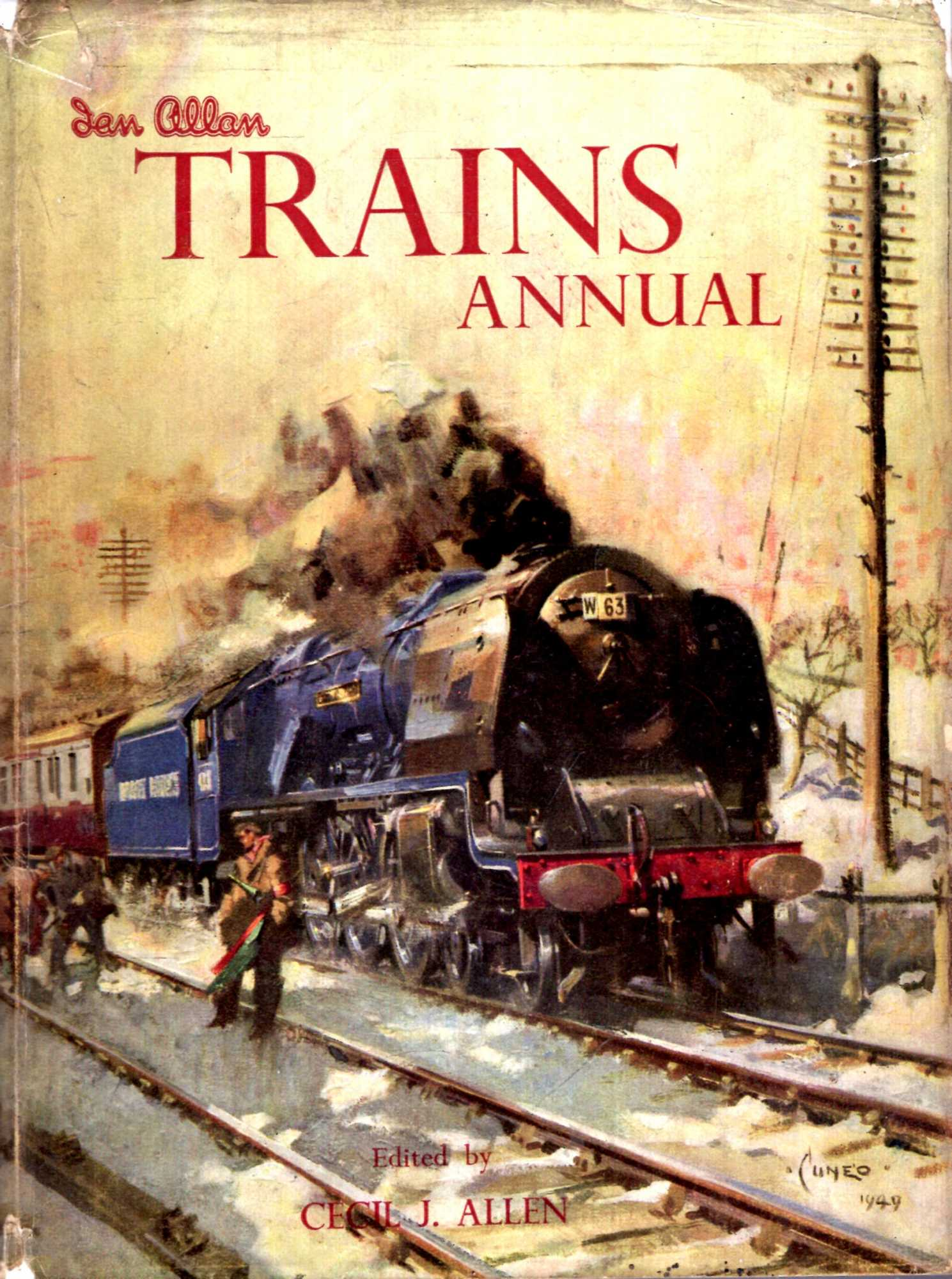 Image for Trains Annual 1950