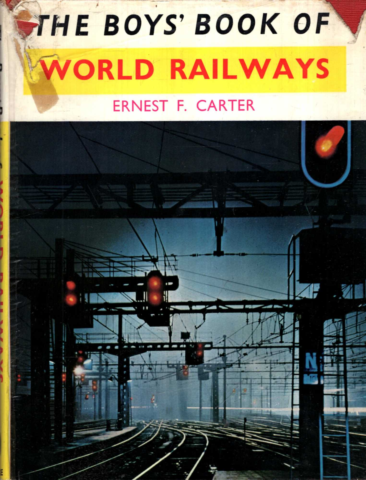 Image for The Boys' Book of World Railways