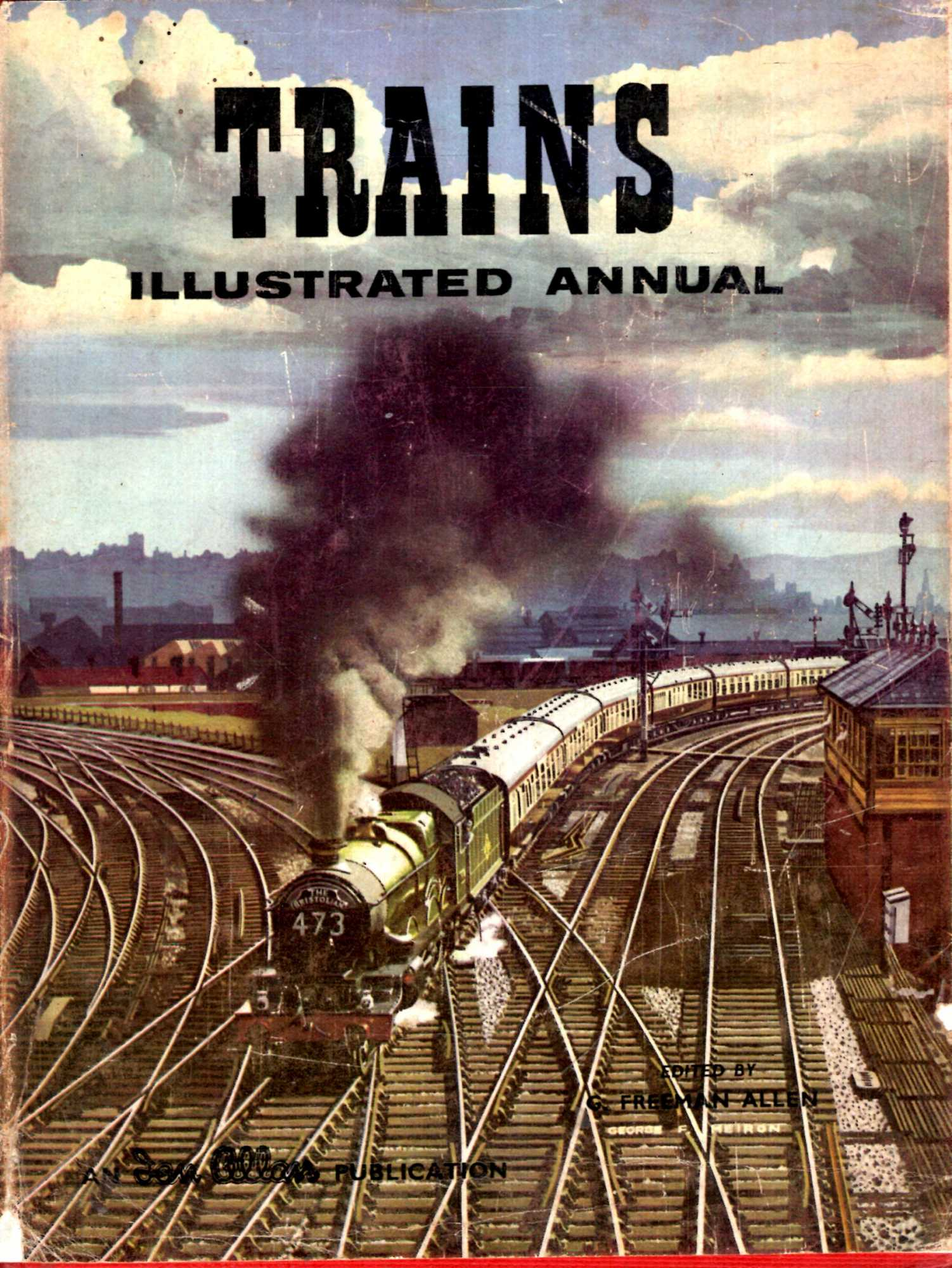 Image for Trains Illustrated Annual 1959