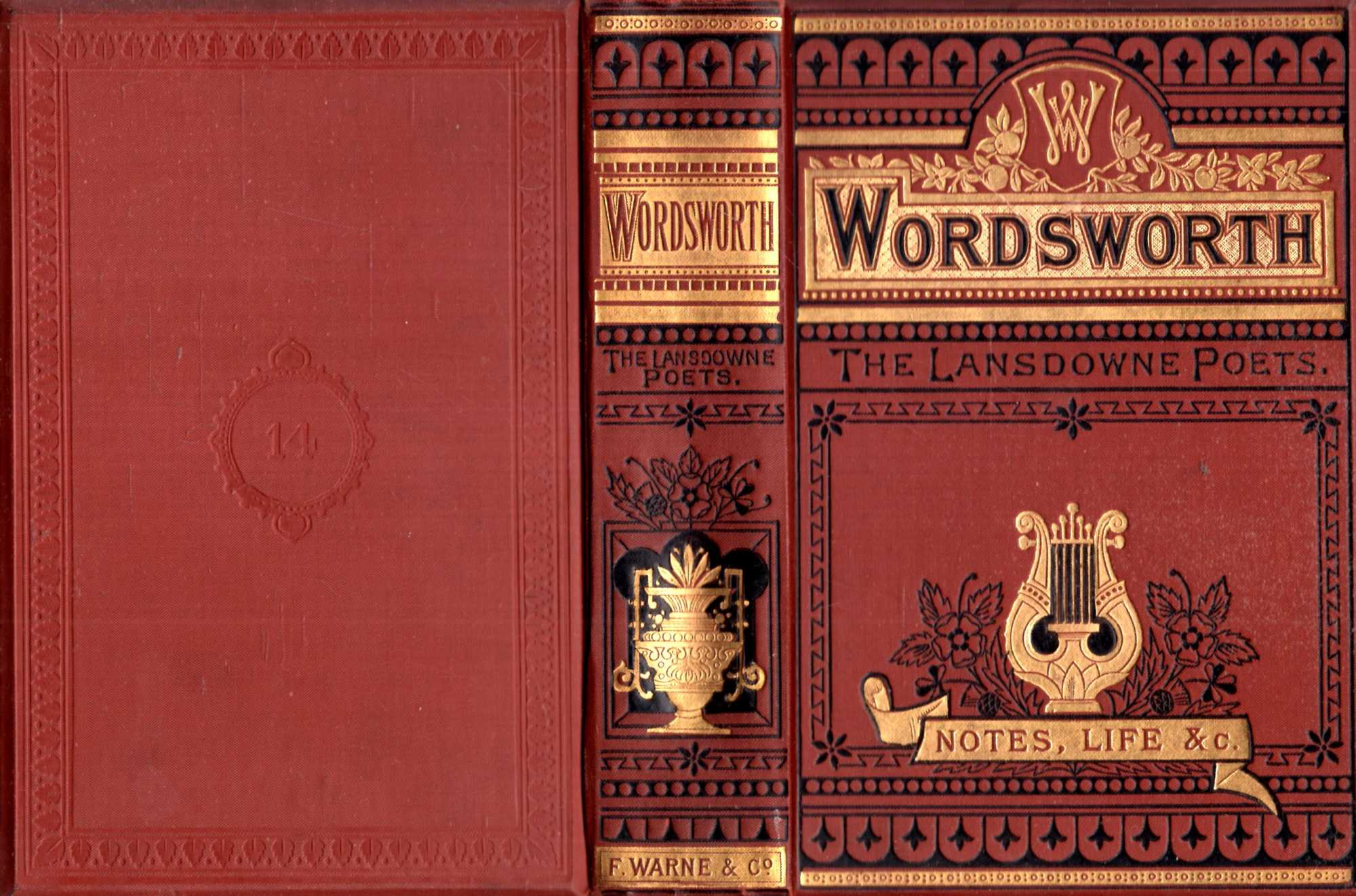 Image for The Lansdowne Poets : The Poetical Works of Wordsworth. With Memoir, Explanatory Notes, &c