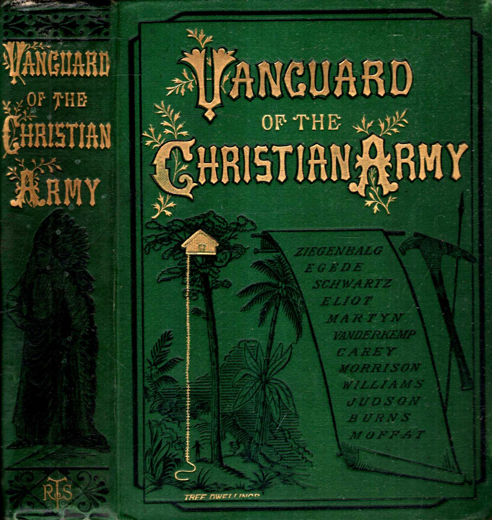 Image for The Vanguard of the Christian Army; or Sketches of Missionary Life
