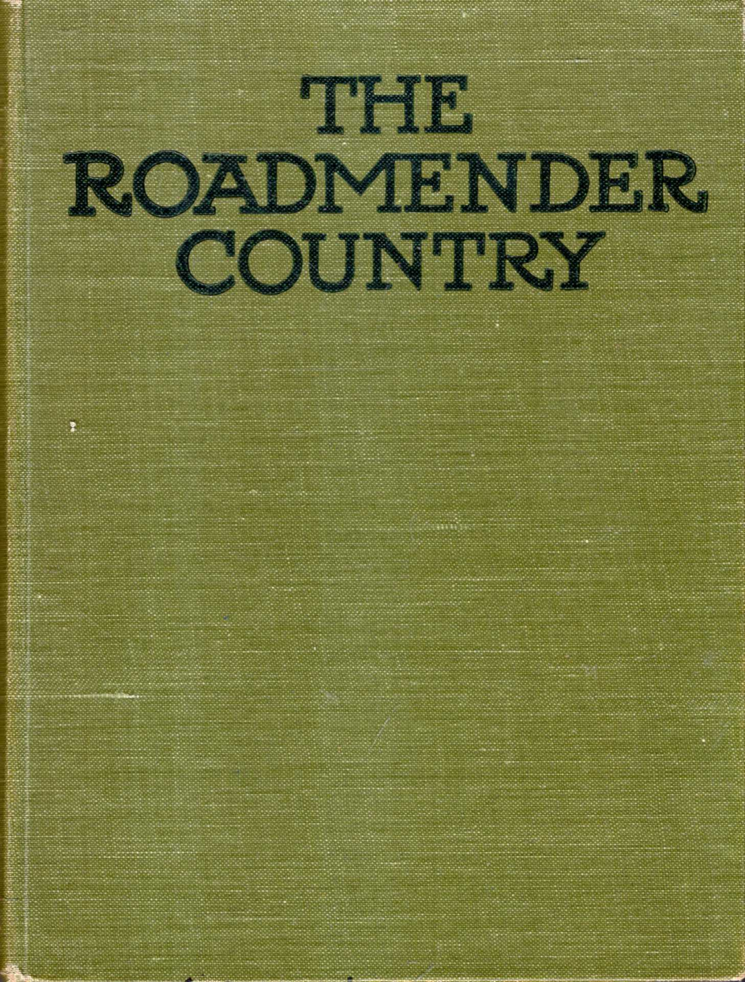 Image for The Roadmender Country