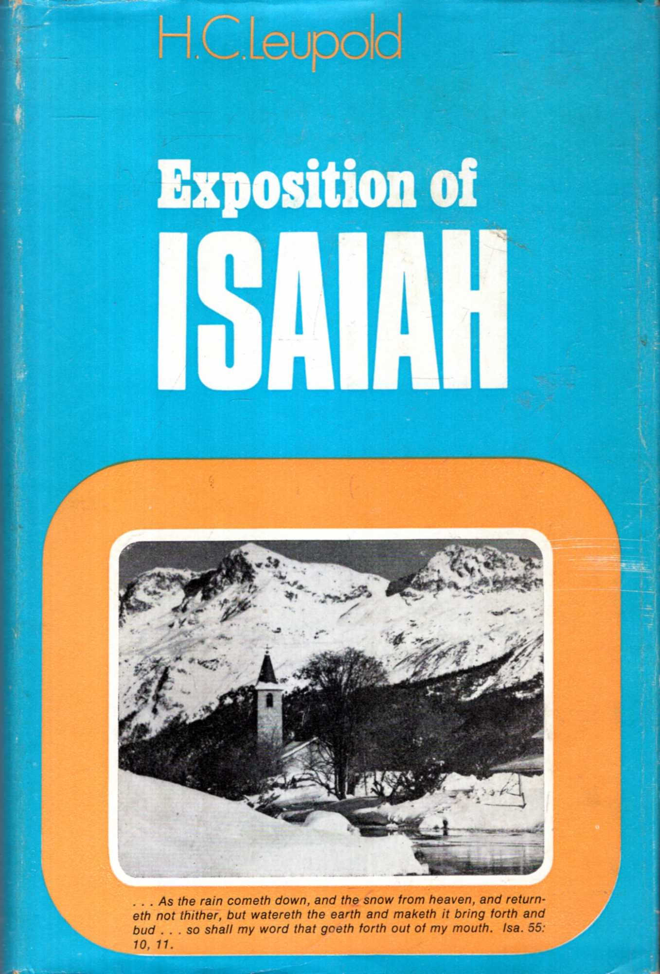 Image for Exposition of Isaiah (two volumes bound in one)