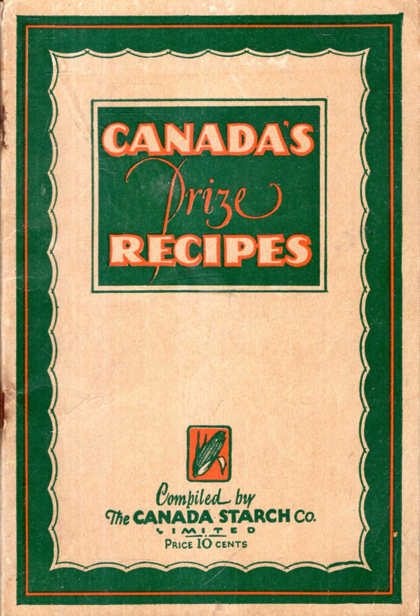 Image for Canada's Prize Recipes