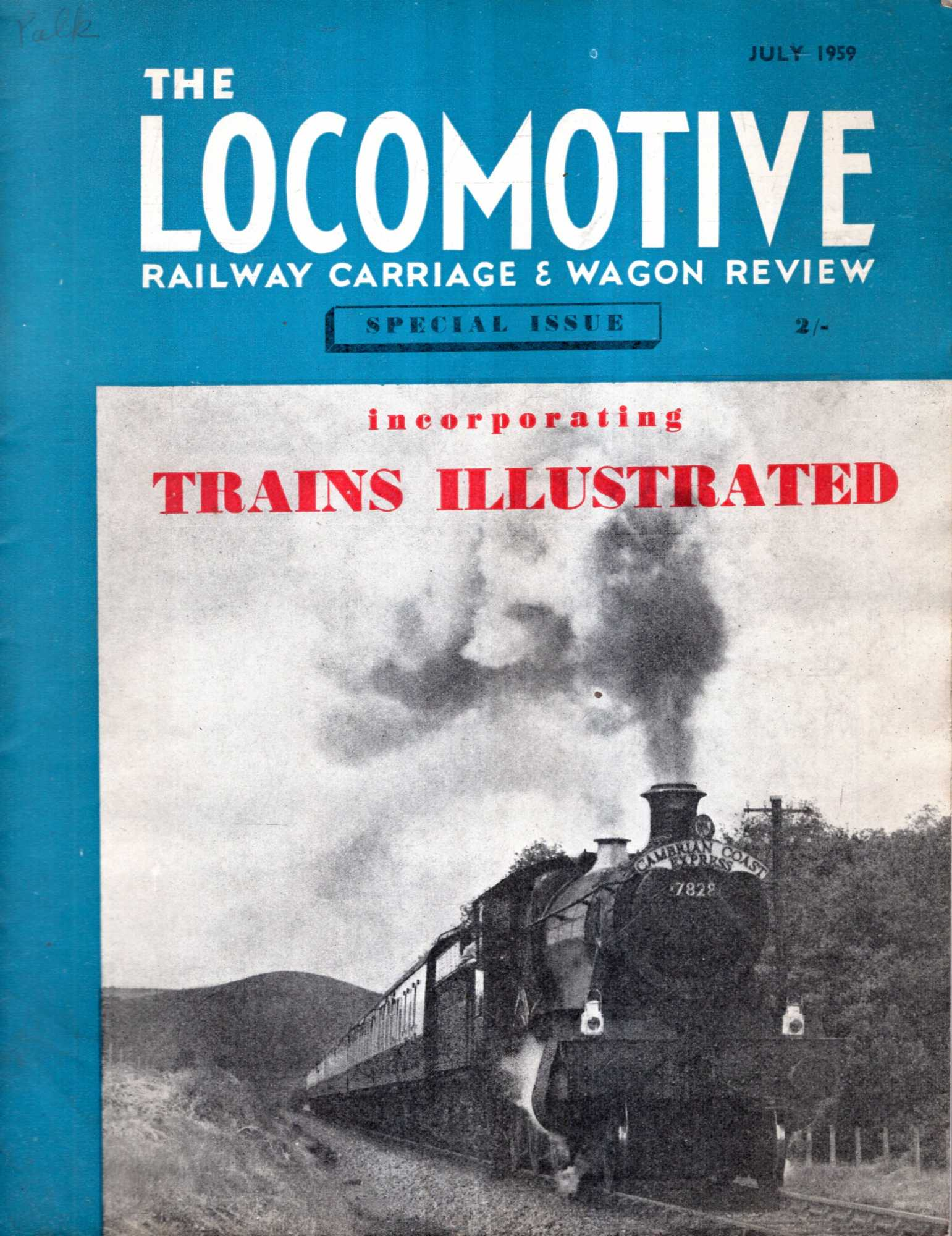 Image for The Locomotive Railway Carriage & Wagon Review: Special Issue of July 1959 incorporating Trains Illustrated