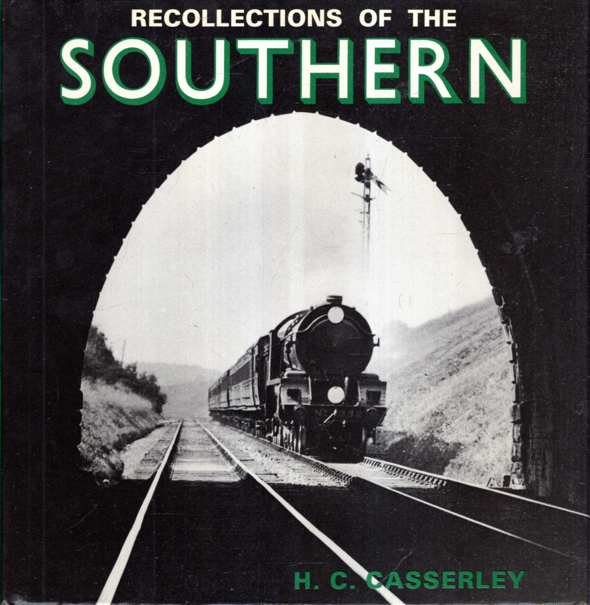 Image for Recollections of the Southern Between the Wars