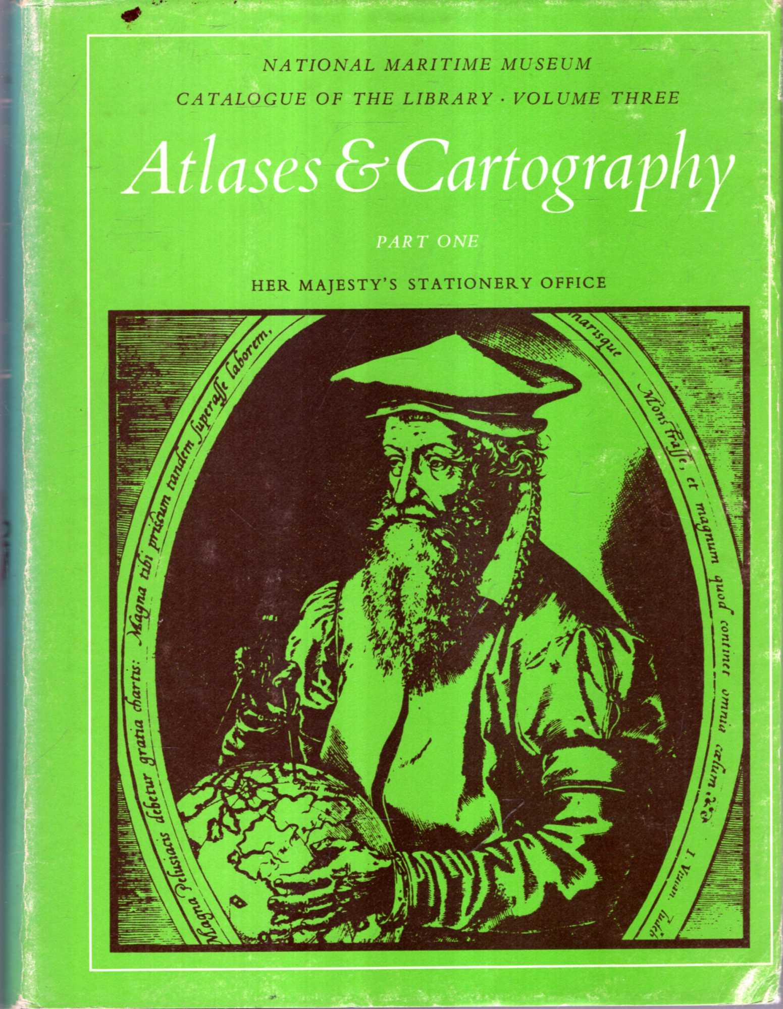 Image for National Maritime Museum Library Catalogue volume three, Parts One & Two: Atlases and Cartography (two books)