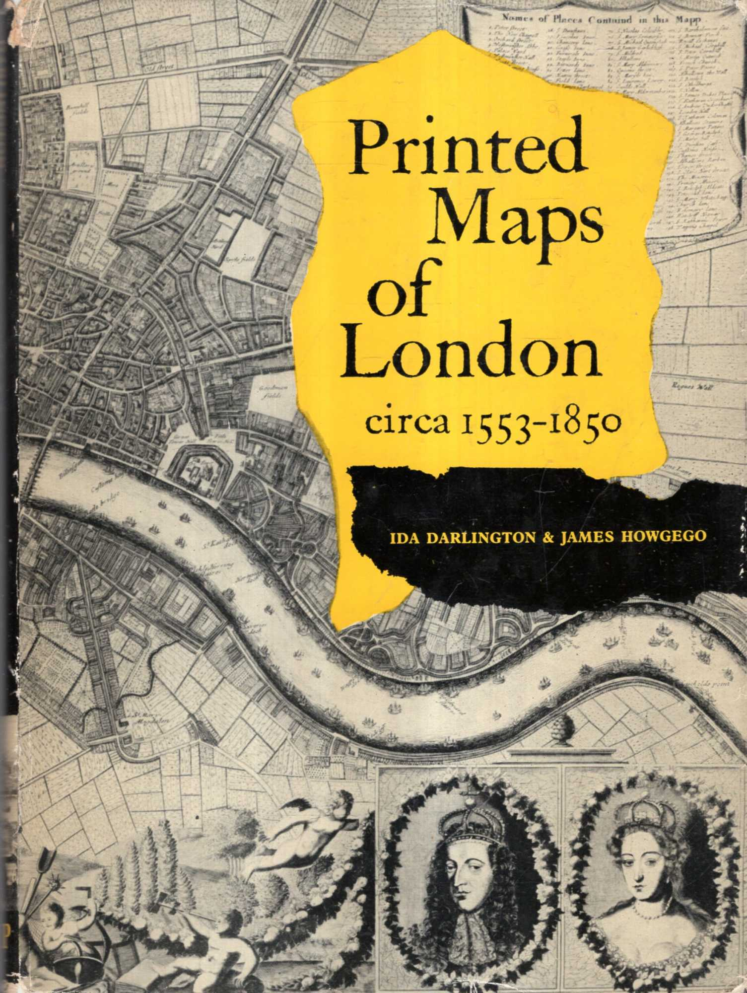 Image for Printed Maps of London circa 1553-1850