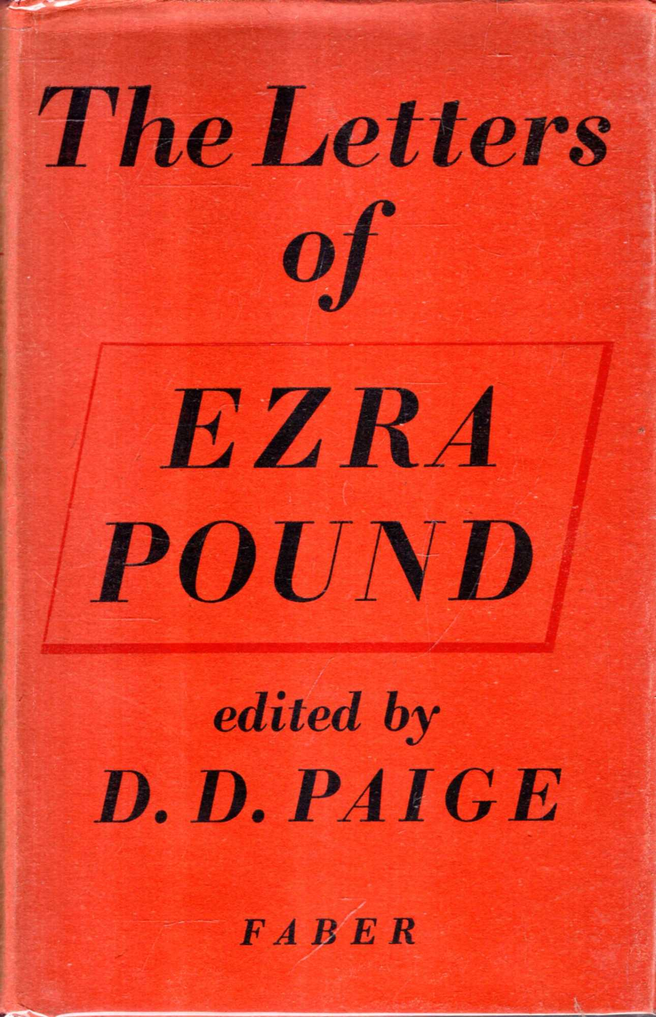 Image for The Letters of Ezra Pound 1907-1941