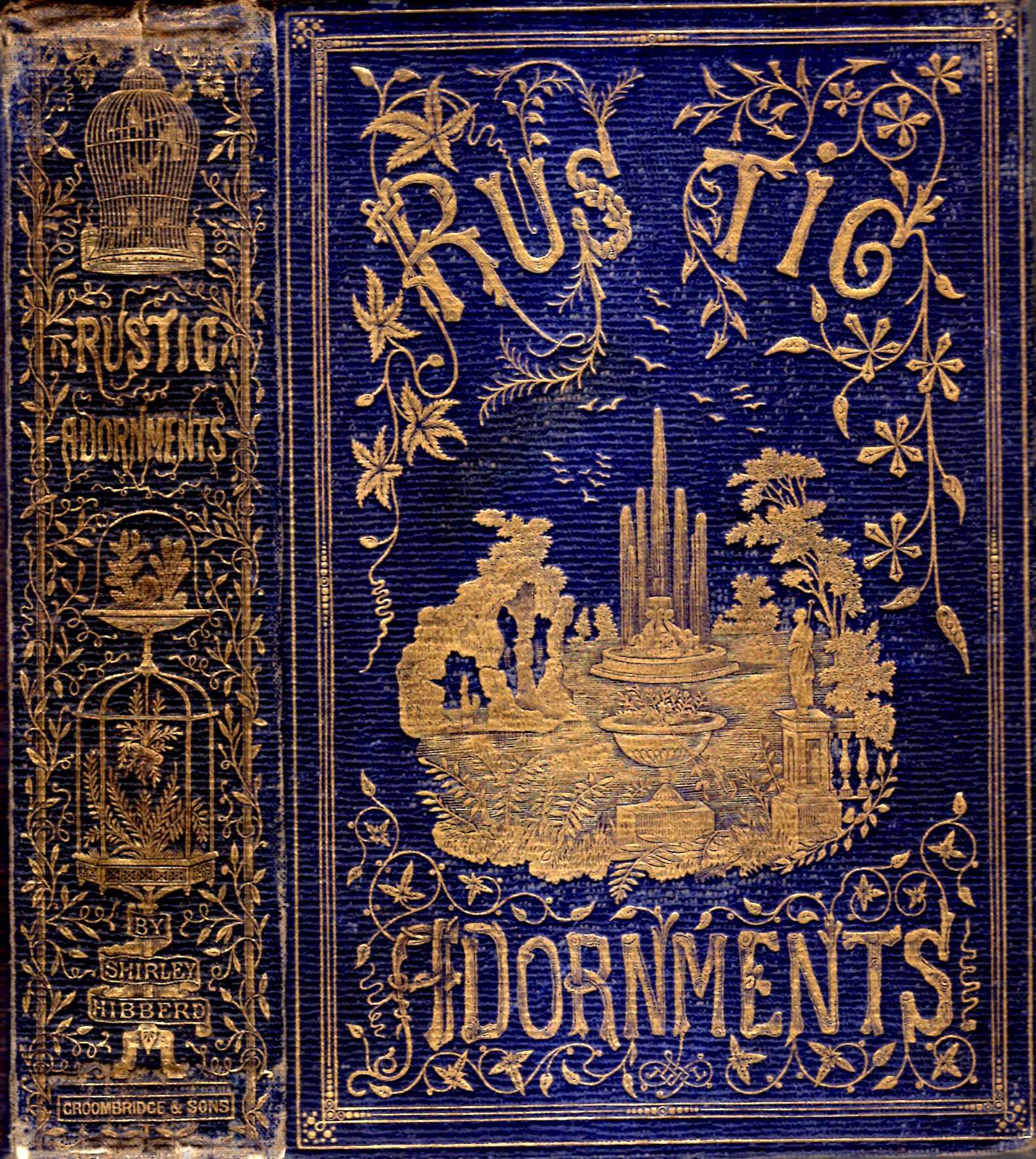 Image for Rustic Ornaments for Homes of Taste, and Recreations for Town Folk in the Study and Imitation of Nature