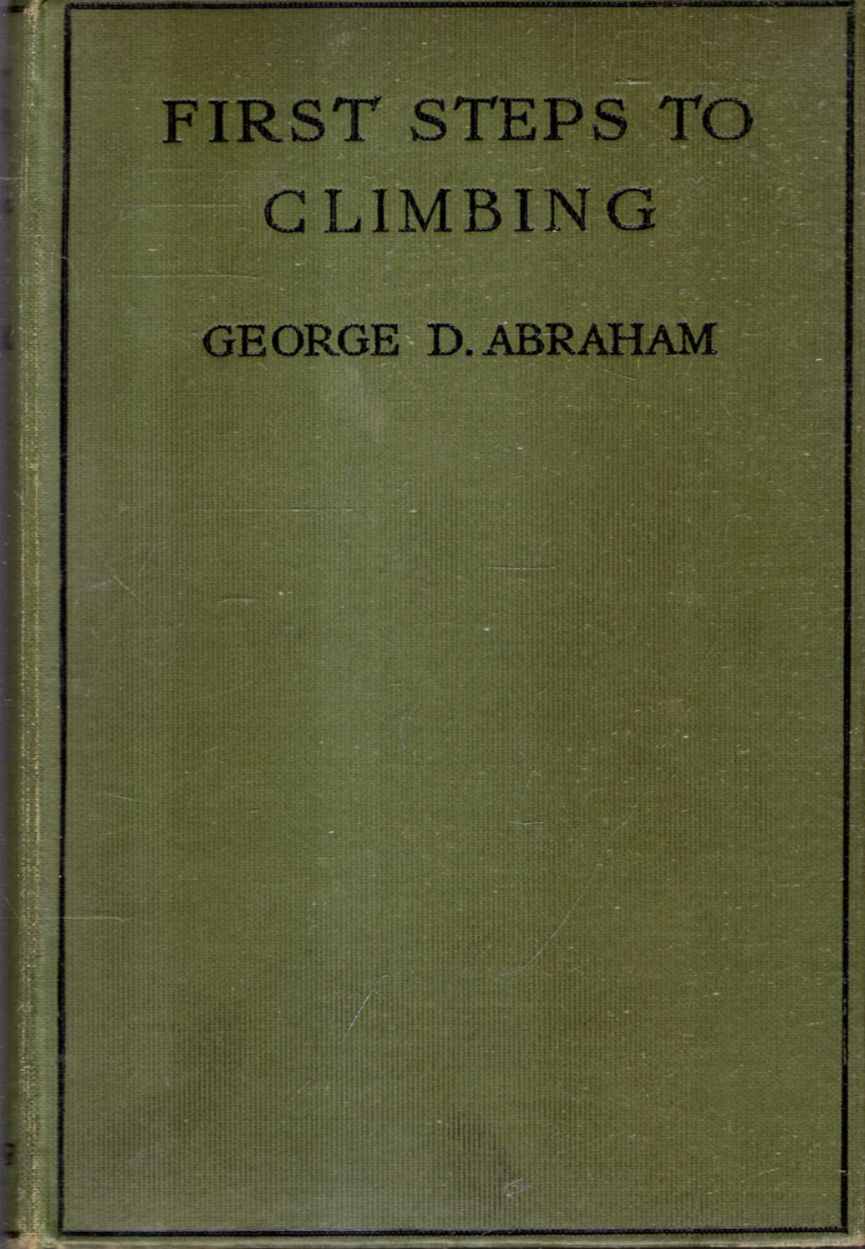 Image for First Steps to Climbing