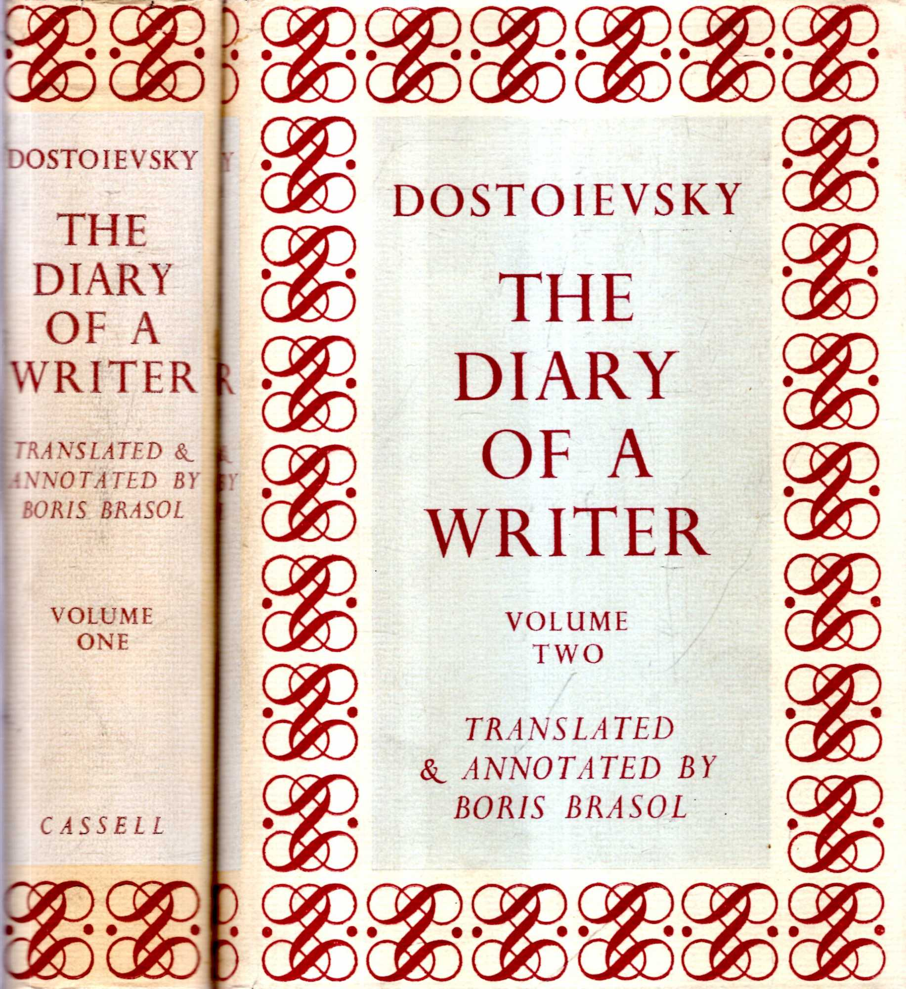 Image for The Diary of a Writer (two volumes complete)