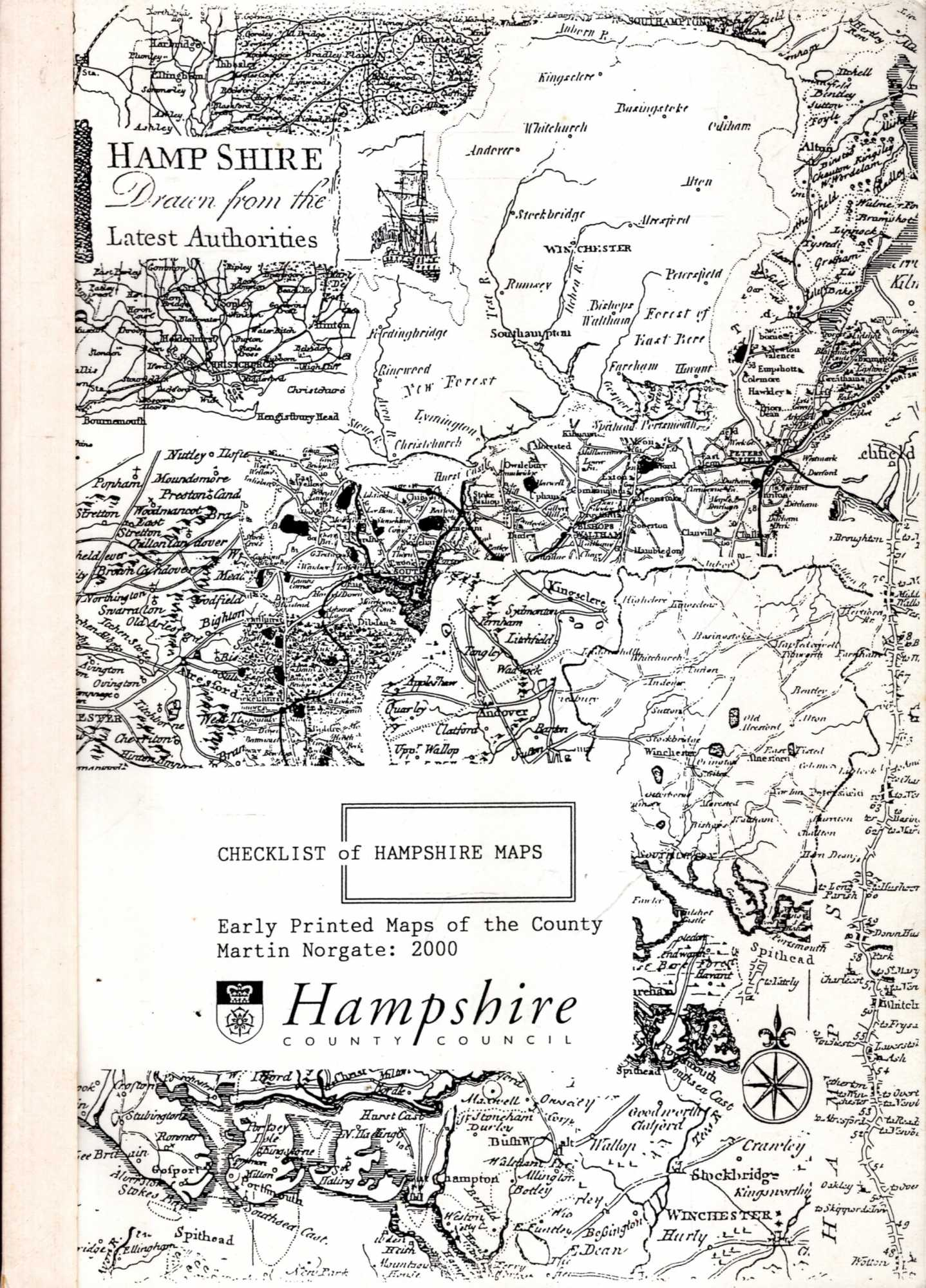 Image for Checklist of Hampshire Maps : Early printed maps of the county