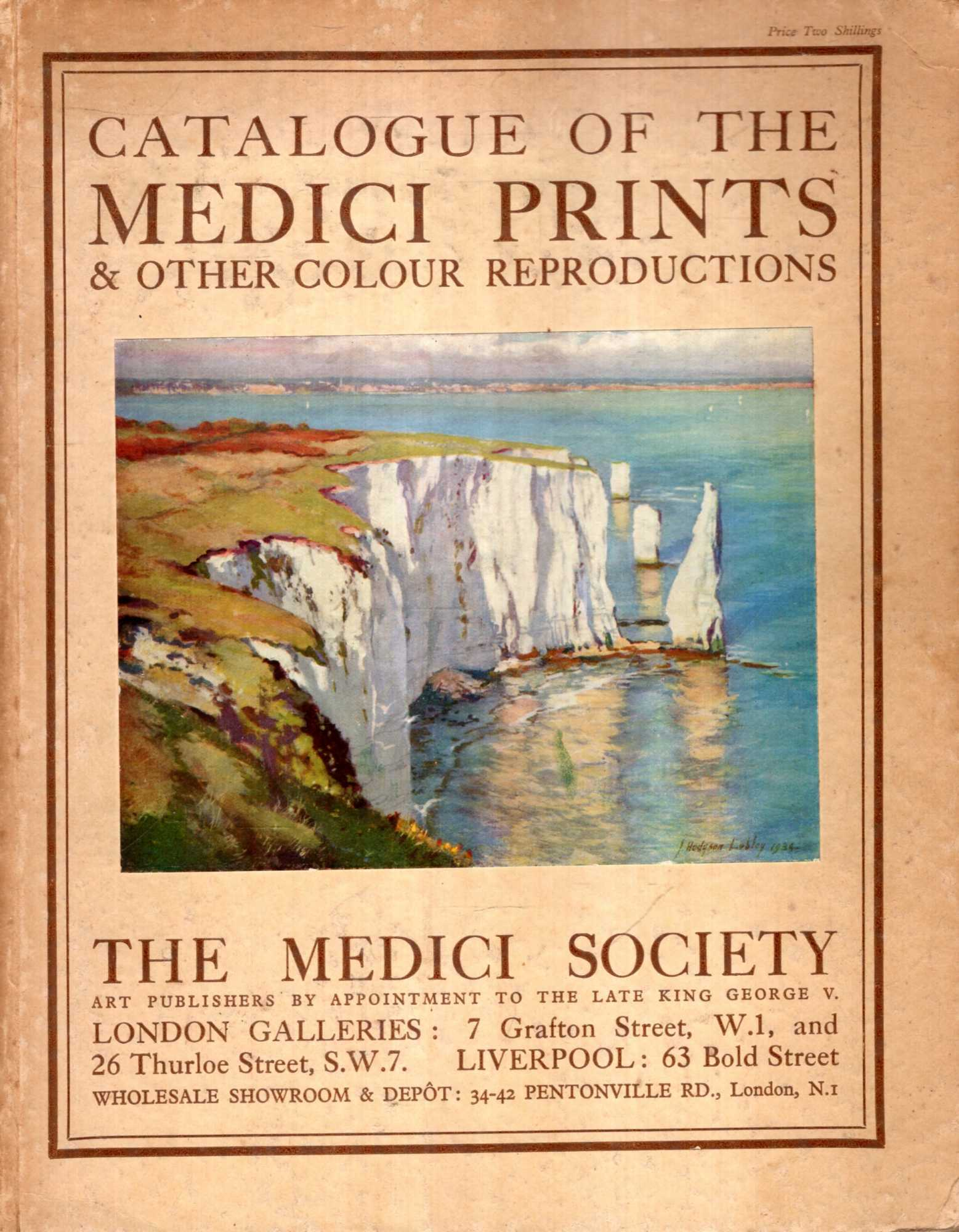 Image for A Catalogue of the Medici Prints and other Colour Reproductions
