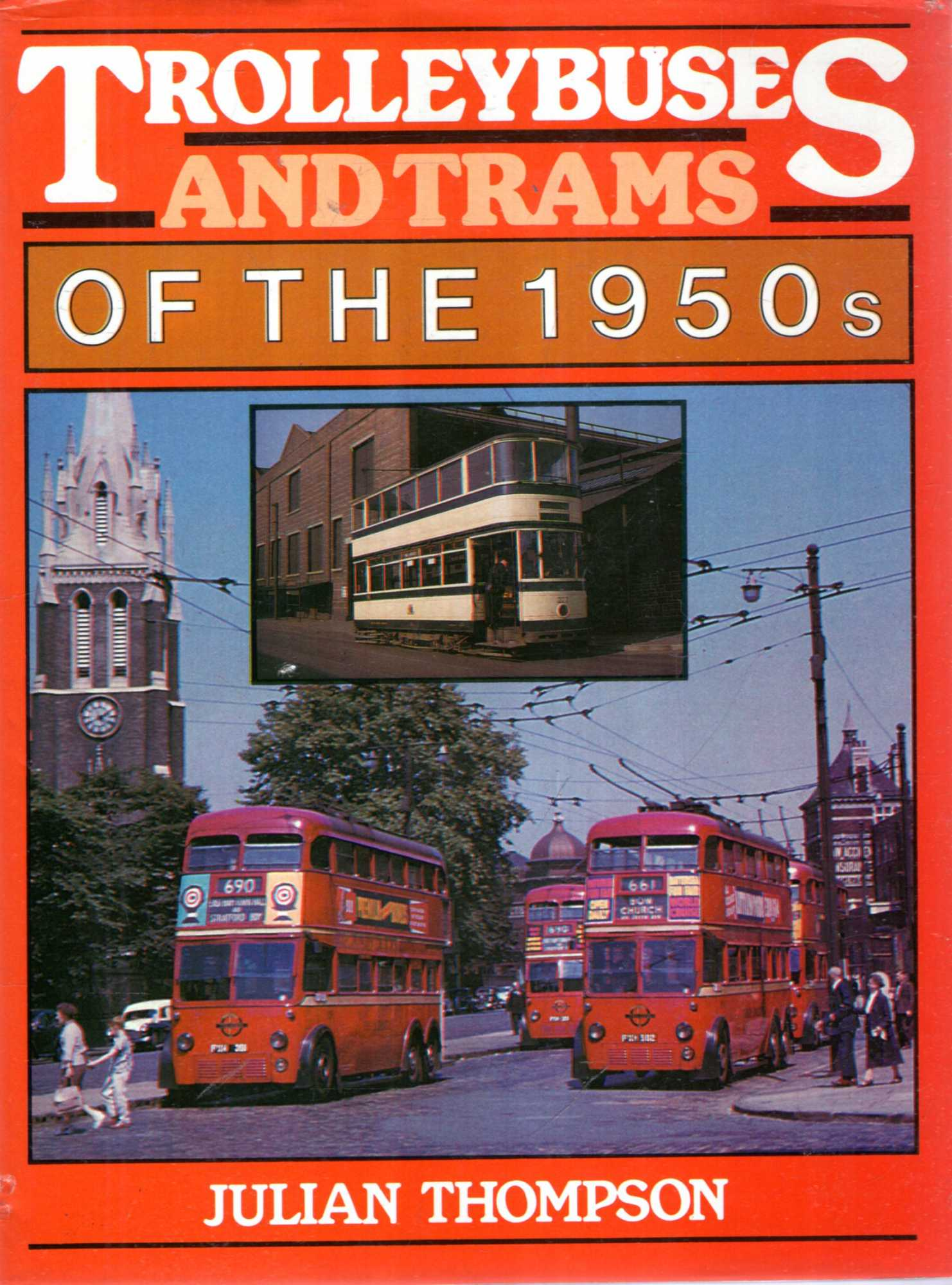 Image for Trolleybuses and Trams of the 1950s