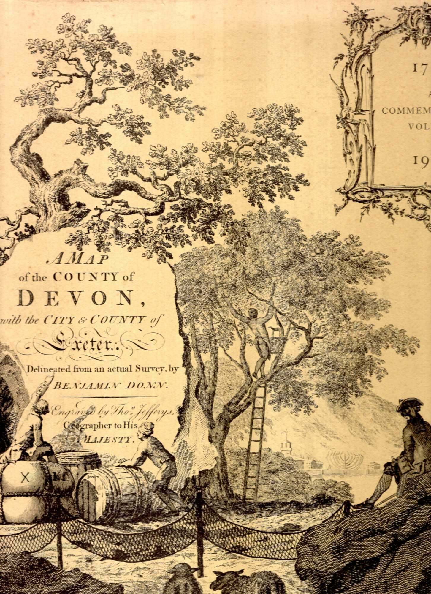 Image for A Map pf the County of Devon 1765 : A Commemorative Volume