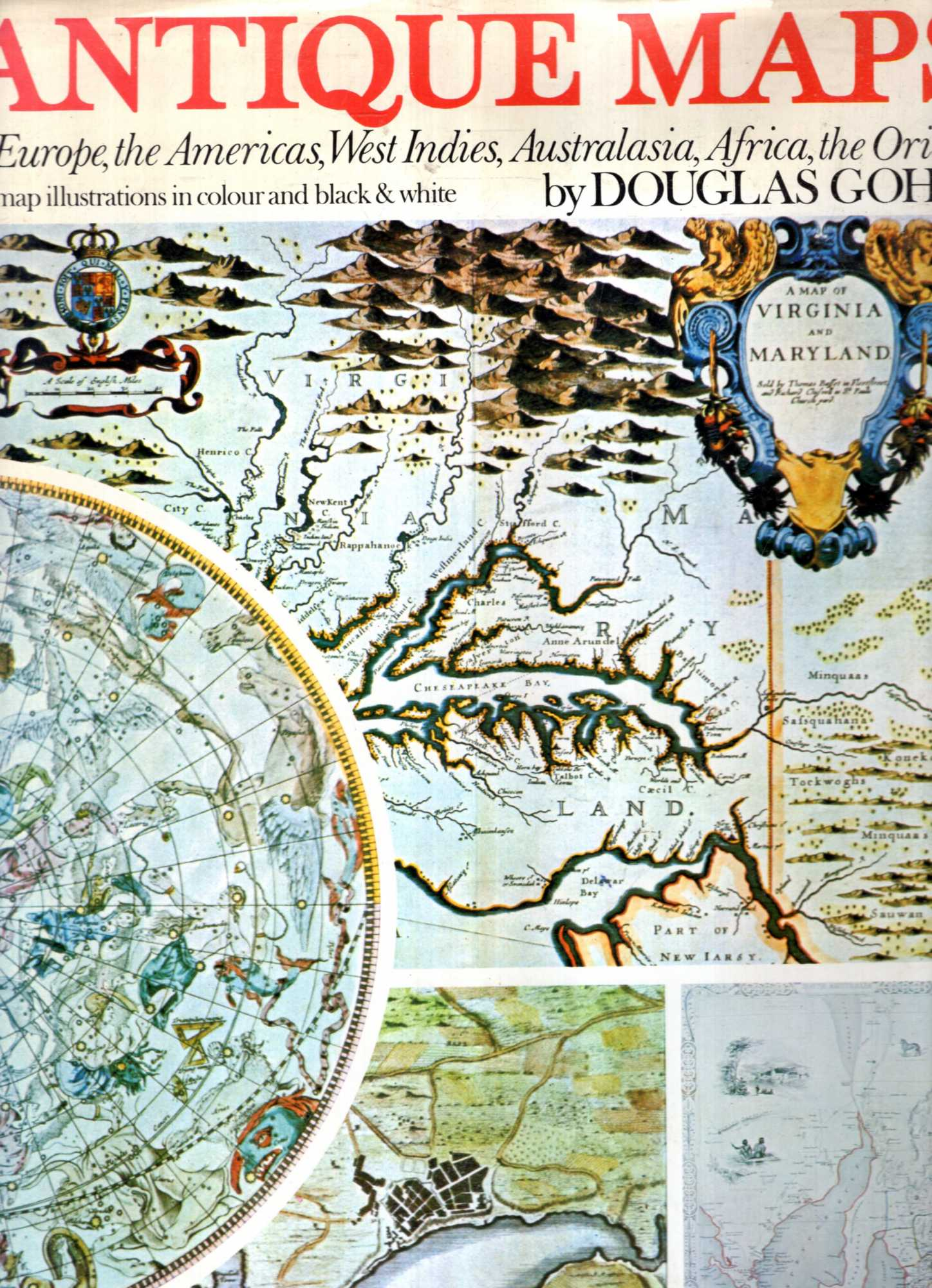 Image for Antique maps of Europe, the Americas, West Indies, Australasia, Africa, the Orient