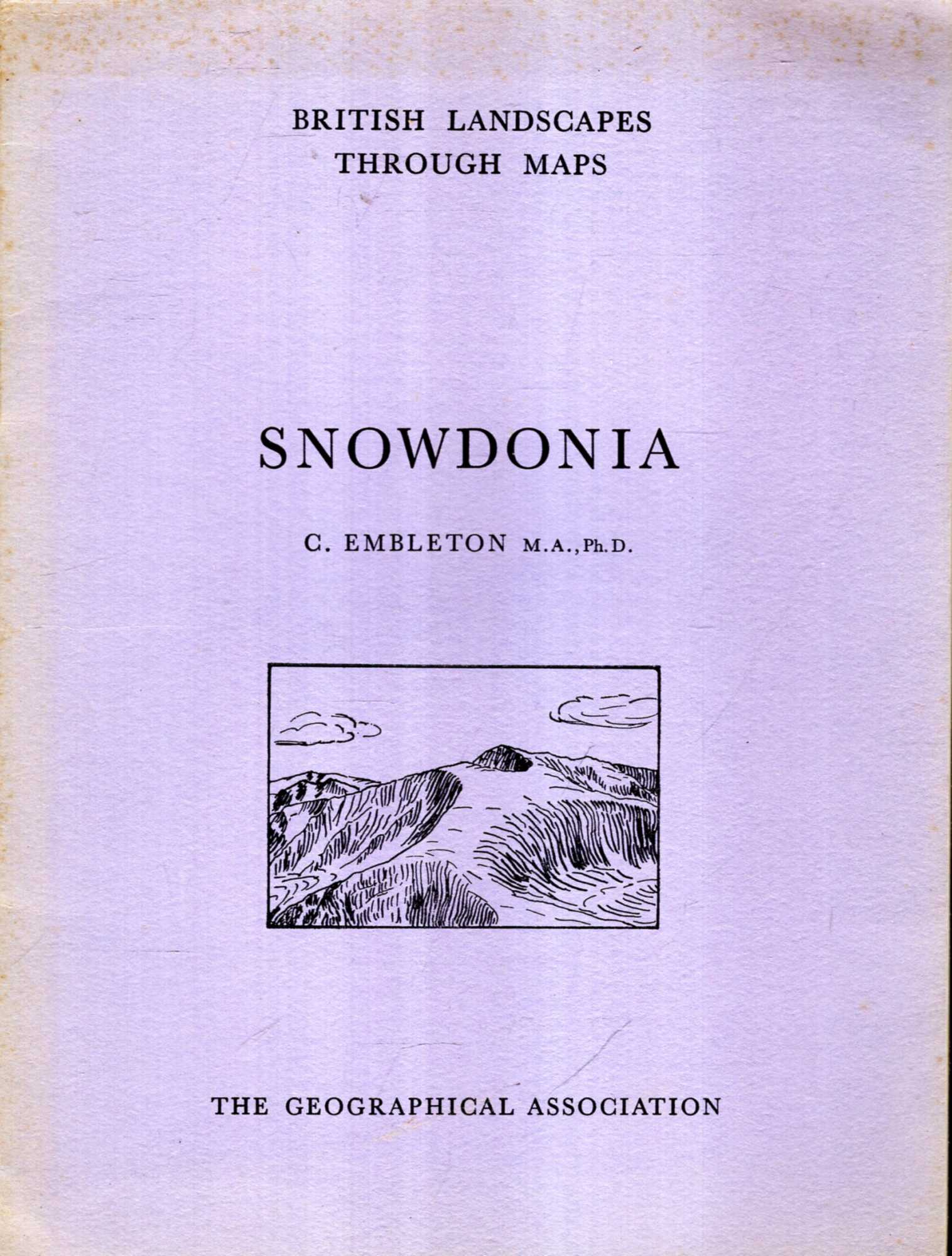 Image for British Landscapes Through Maps 5 : Snowdonia, a description of the O.S. One-inch Sheet 107 : Snowdon
