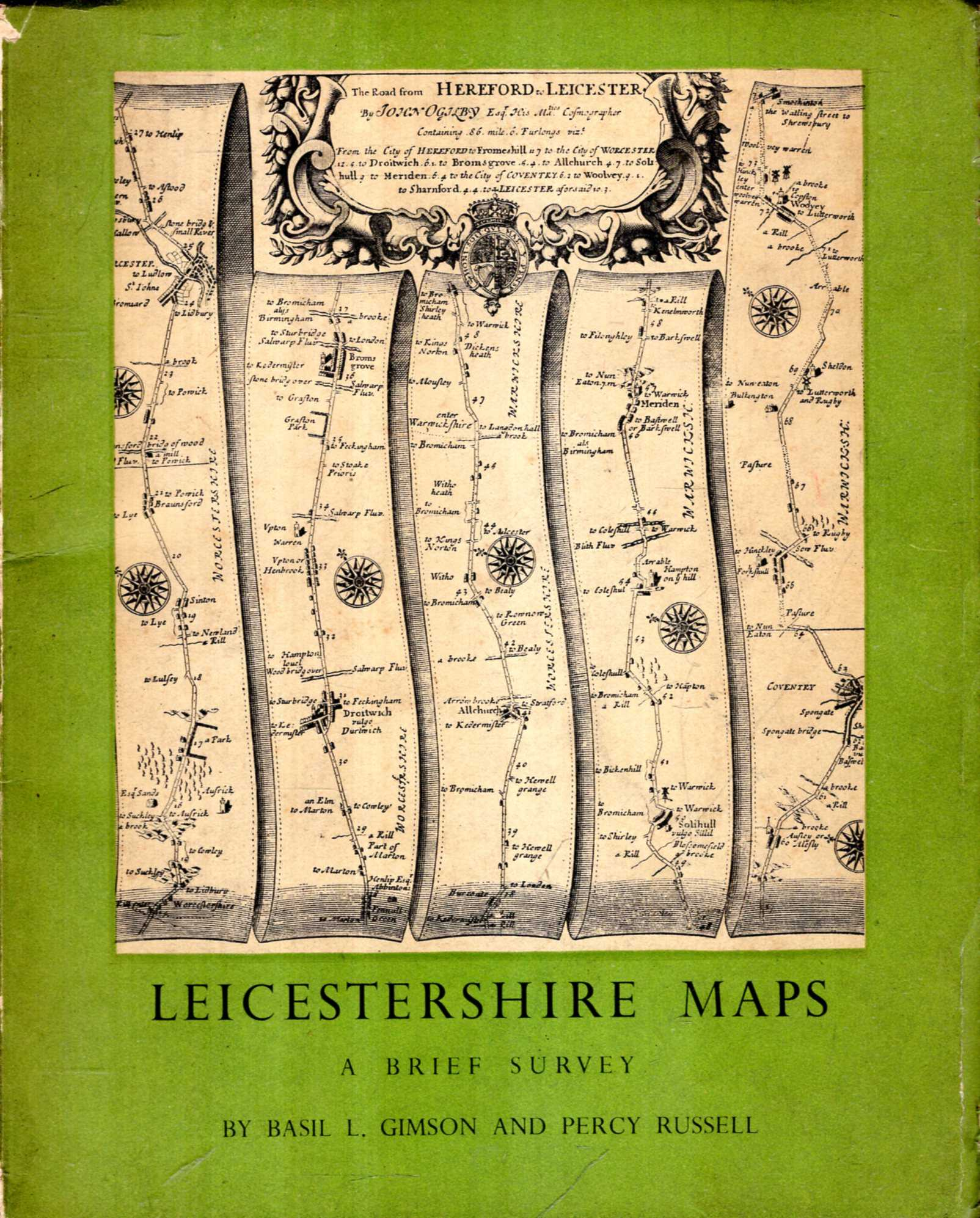 Image for Leicestershire Maps : a brief survey